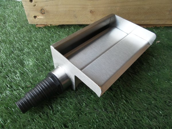 200mm Water Blade 60mm Spout Side Inlet Water Blades