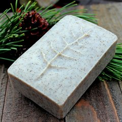 (C) Dark Forest Soap ~ scented with Fir Needle, Spruce & Vetiver Essential Oils