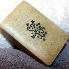 (H) Cardamom Rose Geranium scented soap - Out of stock