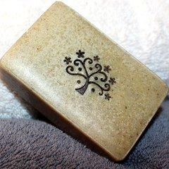 (H) Cardamom Rose Geranium scented soap