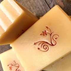 (N7B) Spiced Fire scented soap - scented with sweet orange, cinnamon, clove & cardamom essential oils - Look for it Fall 2018
