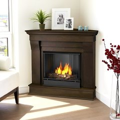 5950 Chateau Corner Ventless Gel Fireplace