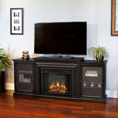 7740E Frederick Electric Entertainment Fireplace