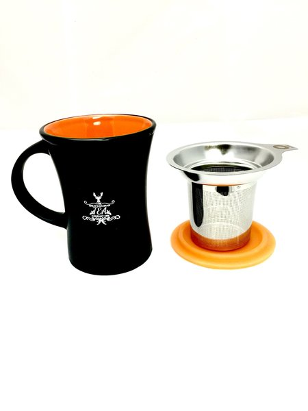 Ceramic Mug with stainless infuser