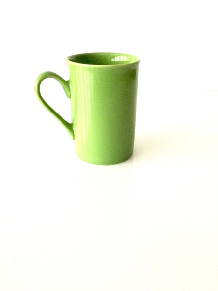 Bistro Style Tea Cup (lime)