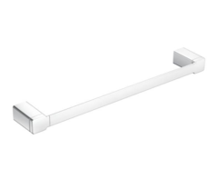 "90 Degree Chrome 24"" Towel Bar"