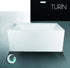 TURIN White Tub Skirted LEFT/RIGHT