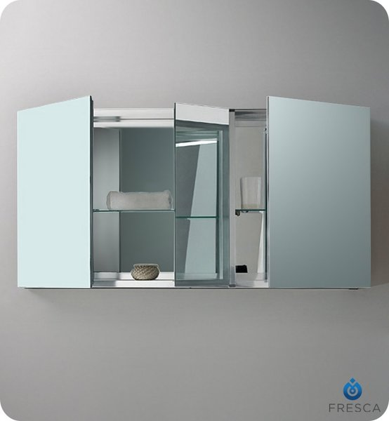wide mirrored bathroom cabinet modern medicine cabinets concept haus design 21665