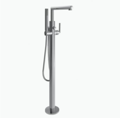 ARRIS MOEN Tub Filler Floor Mounted CH WITH Mounting Hardware