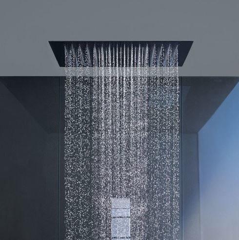 "Square Ultra Thin Shower-Head 20"""