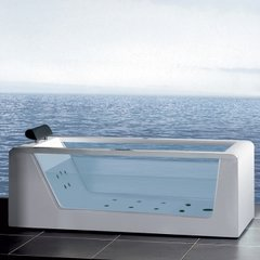 "Ariel Platinum AM152 59"" Whirlpool Bathtub 59x32x25.6"