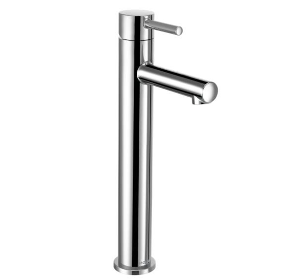 Align Chrome One Handle High Arc Vessel Bathroom Faucet