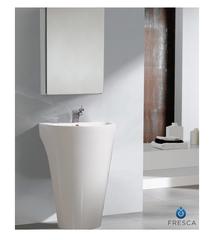 Parma White Pedestal