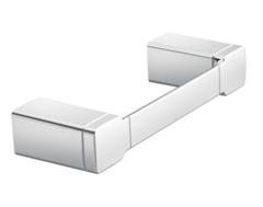 90 Degree Chrome Towel Bar/Towel Ring