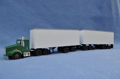 Tonkin 1/64 scale doubles with double axle.