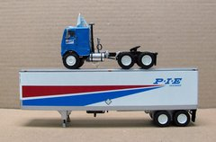 DCP P.I.E NATIONWIDE WITH FREIGHTLINER COE AND 40 FT TRAILER 1/64 SCALE