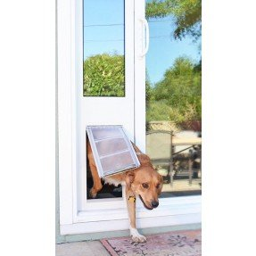 Patio slider pet door featuring the endura flap design glass slider thermo panel 3e endura flap pet door planetlyrics Gallery