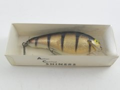 AC Shiner Balsa Wood Lure Unused Very Good in the Box + Paper Insert BASS Size Bait