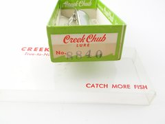 Creek Chub Chrome Viper NEW IN BOX with Papers