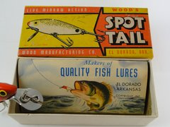 Wood's Spot Tail NEW IN BOX + Papers