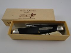 Buck Stockman Knife Model 301 New Old Stock in Box + Paper Work