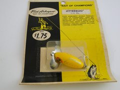 Fred Arbogast 1/4 OZ. JITTERBUG NEW in RARE BUBBLE PACK