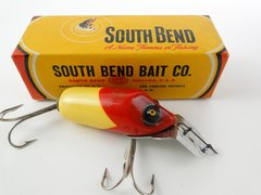 South Bend Dive Oreno Fishing Lure R/W EX in a 952 YP BOX