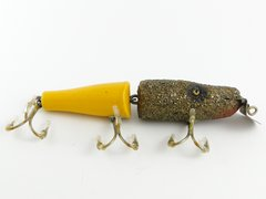 Creek Chub 2600 Y Jointed YELLOW PICKERAL Pikie Fishing Lure EX++