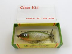 Cisco Kid Fishing Lure NEW IN BOX + Paper Insert