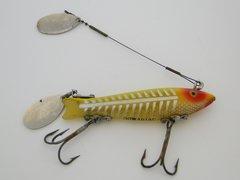 Heddon Dowagiac SPOOK Fishing Lure in Yellow Shore Pattern