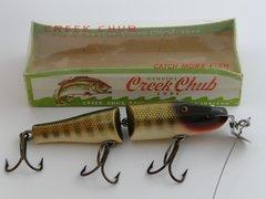 Creek Chub 2600 Jointed Pikie Wood Glass Eye Fishing Lure NEW in BOX