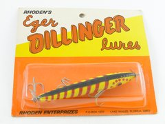 Eger Dillinger Floater 302 F WILD COLOR! Red/Yellow/Black
