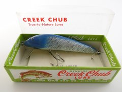 Creek Chub Viper Blue Flash 8834 In Box with Papers