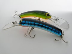 Bagley Smoo #3 Fishing Lures 2 different colors