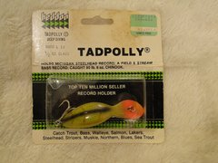 Heddon 9000 L Deep Diving Tadpolly in Perch New in Package!