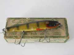Creek Chub Pikie Minnow model 701 Perch DLT in a 700 Label End BOX!