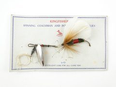Kingfish Bass Fly Fishing Lure on Card