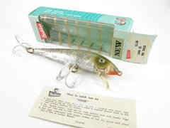Heddon BIG Tiger 1040 SS Silver Scale NEW IN BOX with Paper Insert