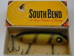 NICE South Bend Bass Oreno in Box 973 Yellow Perch
