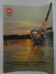 Penn Fishing Reel Catalog 35A 1972