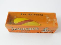 Johnson Spoon NEW IN BOX YELLOW