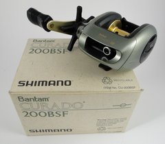 Shimano Curado 200 BSF Fishing Reel NEW IN THE BOX WITH PAPERS Unused!!!