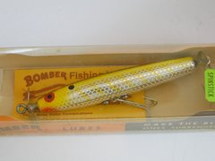 Bomber 7300 Series Spinstick Wood Fishing Lure NEW IN BOX Metascale Yellow Back Shad no.81