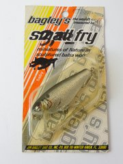 Bagley's Small Fry Shad SILVER Foil New in Package
