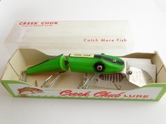 Creek Chub FIREPLUG NON GANTRON!!! 2632 DD Jointed Pikie NEW IN BOX!!!