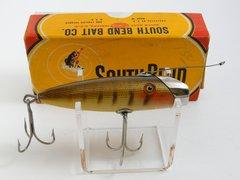 South Bend Fish Oreno 953 P Pike Scale Finish Wood Fishing Lure