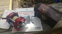 ABU Ambassadeur 5000 Fishing Reel FREE SHIPPING