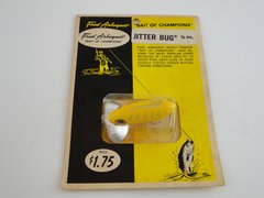 Fred Arbogast 3/8 OZ. JITTERBUG NEW in RARE BUBBLE PACK