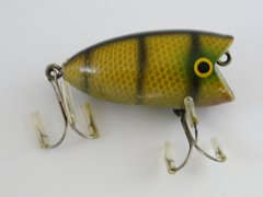 THE CHUNKER Early Fishing Lure by The American Tackle Company Before Bleeder Bait Co?