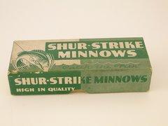 Nice Rare Green Shur Strike Lure Box ONLY